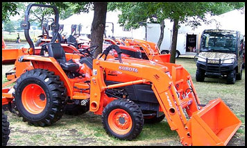 Kubota L2800 - Specifications - Attachments