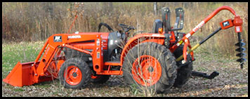 Kubota L3130 - Specifications - Attachments