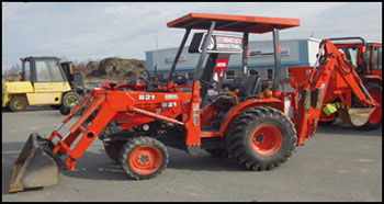 Kubota B21 - Specifications - Attachments