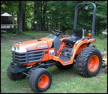 Kubota B7300 - Specifications - Attachments