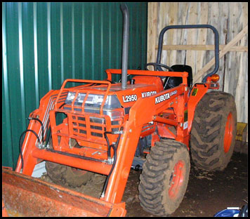 Kubota L2950 Specifications Attachments