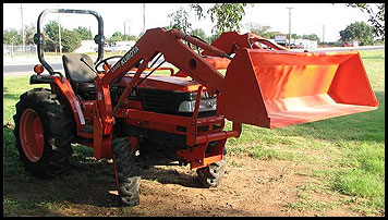 Kubota L3010 - Specifications - Attachments