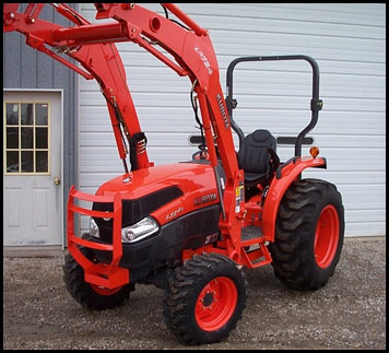 Kubota L3240 - Specifications - Attachments