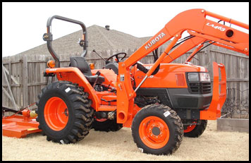 Kubota L3400 Tractor - Specifications - Attachments