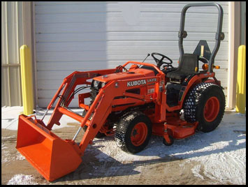 Kubota B7500 Specifications Attachments