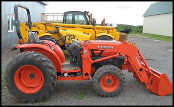 Kubota L3830 - Specifications - Attachments