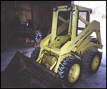 New Holland L425 Skid Steer