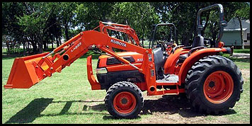Kubota L4330 Specifications Attachments