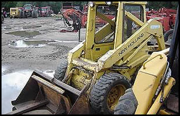 New Holland L445 Skid Steer