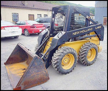 New Holland L465 Skid Steer