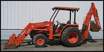 Kubota L48 - Specifications - Attachments on