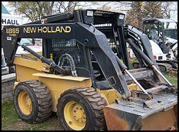 New Holland L865 Skid Steer - Attachments - Specifications