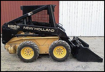 New Holland LX665 Skid Steer - Attachments - Specifications