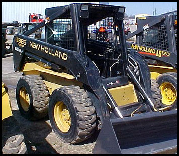 New Holland LX885 Skid Steer - Attachments - Specifications