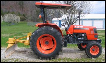Kubota M6800 Tractor - Attachments - Specs