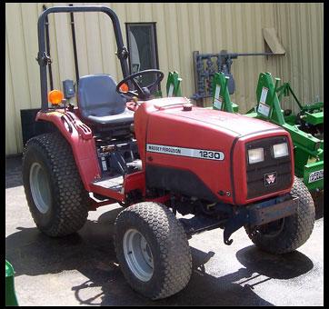 Massey Ferguson 1230 Tractor - Attachments - Specs