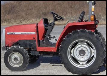 Massey Ferguson 1240 Tractor - Attachments - Specs