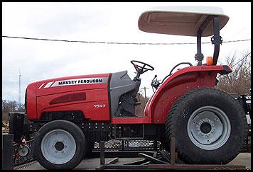 Massey Ferguson 1547 Tractor - Attachments - Specs