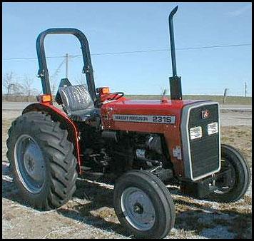 Massey Ferguson 231S Tractor Attachments Specs