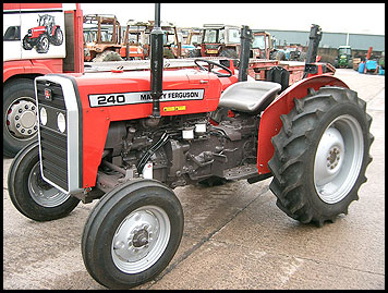 Massey Ferguson 240 Tractor - Attachments - Specs