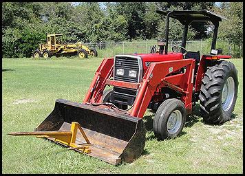 Massey Ferguson 383 Tractor - Attachments - Specs