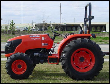 Kubota MX 5100 Tractor - Attachments - Specs