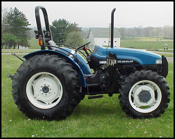 New Holland TN65 Attachments - Specs on