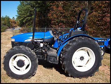 New Holland TN75 Attachments - Specs
