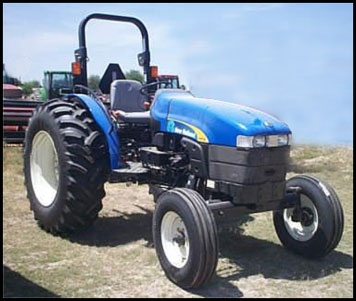 New Holland TT75A