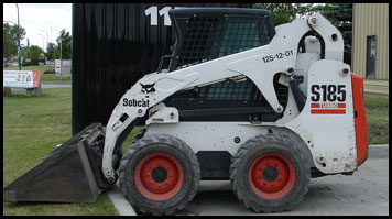 Bobcat S185 Skid Steer - Attachments - Specifications