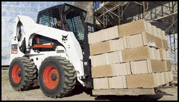 Bobcat S300 Skid Steer - Attachments - Specifications