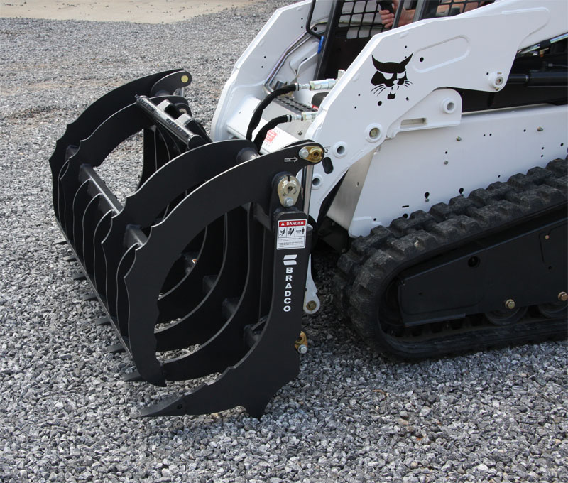 Skid Steer Brush Grapple