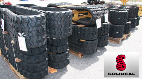 Solideal Quality Replacement Rubber Skid Steer & Excavator