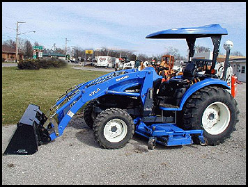 New Holland Tc40 Attachments Specs