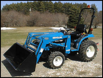 New Holland TC 21 Tractor