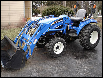 New Holland TC34DA