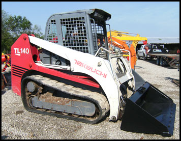 Takeuchi TL130 Skid Steer - Attachments - Specifications