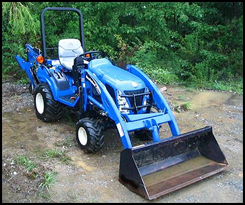 New Holland TZ 22 Tractor Model