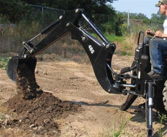 Bradco Compact Tractor Backhoe Model 485 3 Point Hitch