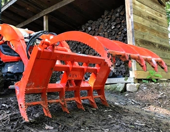 Root Rake Grapple For Kubota BX