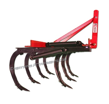 Fred Cain 7 Shank 3 Point Field Cultivator 85in Bar