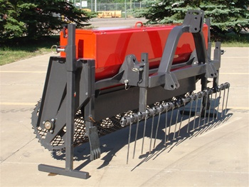 Tractor Ps 6 Series 3 Point Hitch 6 Harley Power Seeder