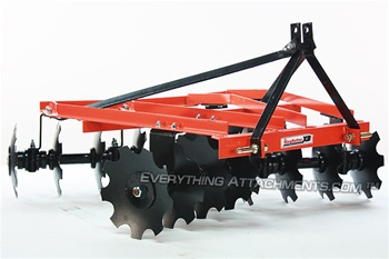 King Kutter Compact Tractor Disc Harrow Angle Iron Frame