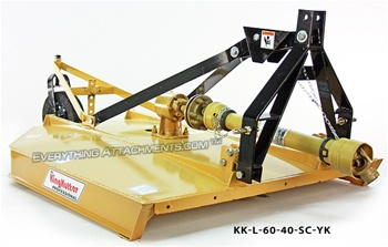 King Kutter Professional Flex Hitch Rotary Cutter