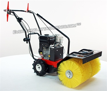 Wsp24 Walk Behind Sweeper 6 5 Hp Briggs Vanguard Manual