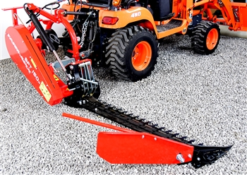 Best sickle bar mower for compact tractors for Sickle mower for garden tractor