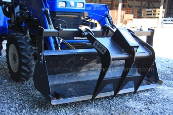 Bucket Grapple Bolts On To Your Loader Bucket Single And